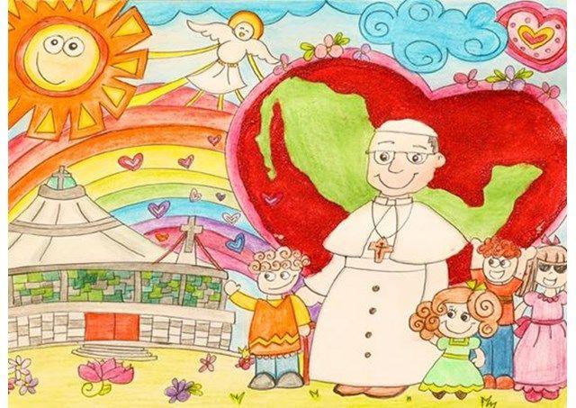 Кожен жертводавець отримає електронну копію дитячого малюнка на знак подяки від Папи / uk.radiovaticana.va