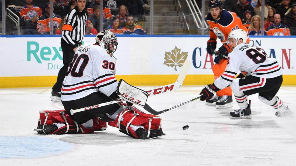 Гросс дебютировал в матче НХЛ в 32 года / nhl.com