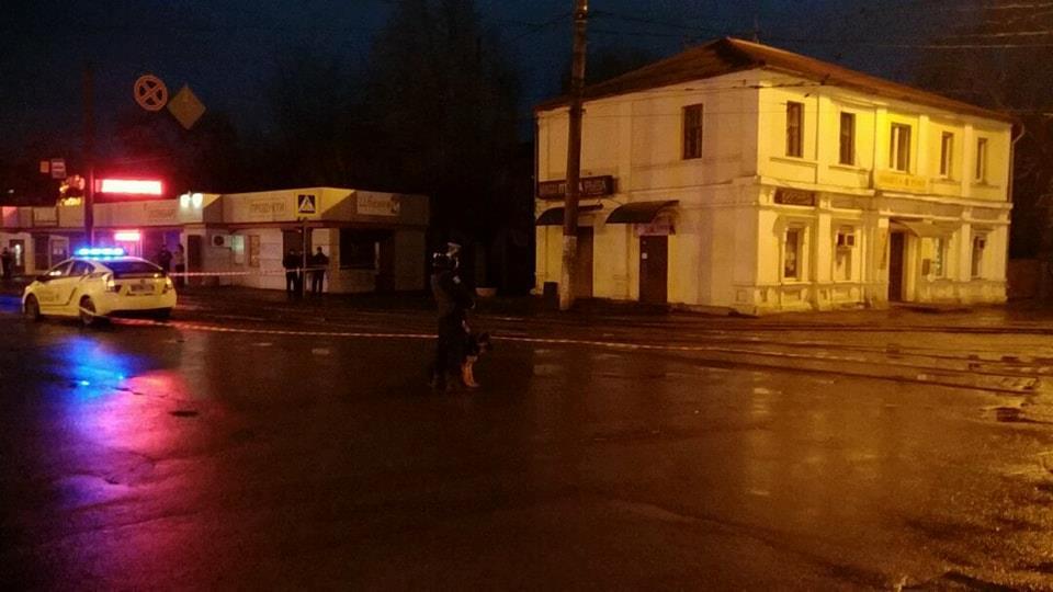 На место инцидента выехало руководство ГУ НП / фото полиция Харьковщины, Facebook