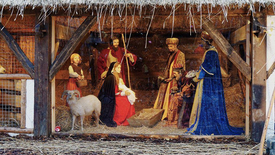 Фигурка Христа-младенца похищена из рождественских яслей / ria.ru