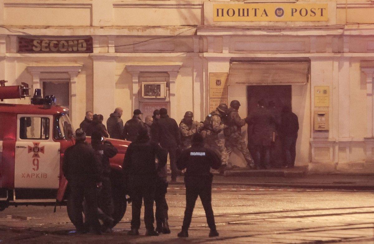 Захват заложников в Харькове / REUTERS