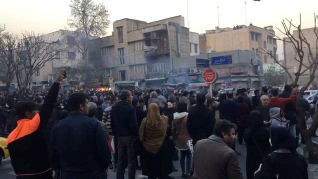 Протесты в Иране / REUTERS