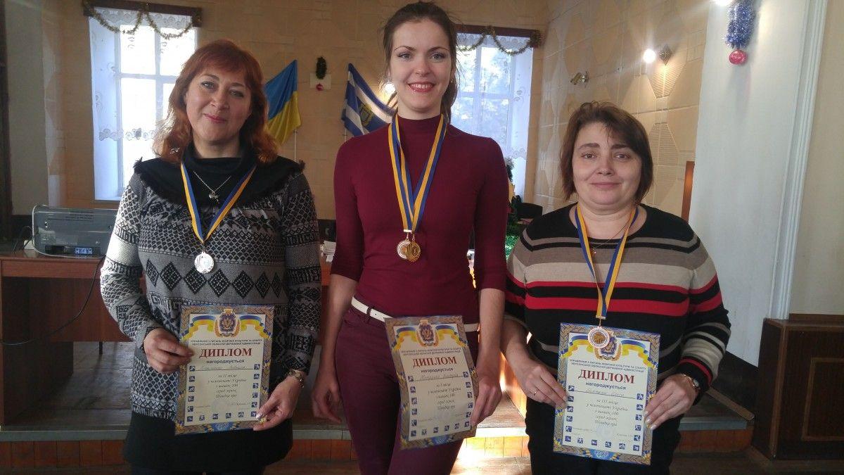 Пробедители чемпионата Украины по шашкам-100 среди женщин / Федерация шашек Украины