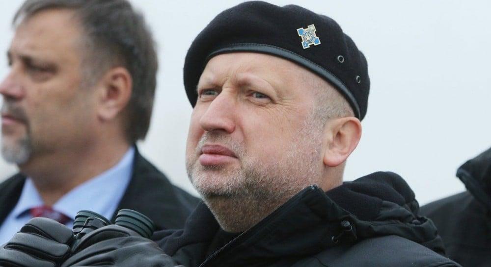Воєнний стан в Україні запроваджено з 26 листопада – Турчинов