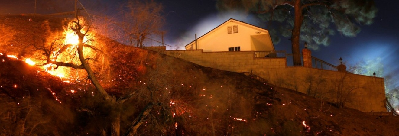 Лесной пожар в Калифорнии может стать самым страшным в истории штата (видео)