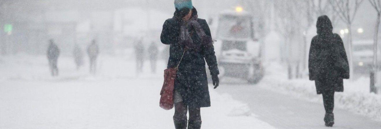 Синоптики предупреждают об ухудшении погодных условий в Украине: ожидается до 40 см снега