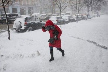 Метели, гололедица и сильный ветер: в Украине объявили штормовое предупреждение