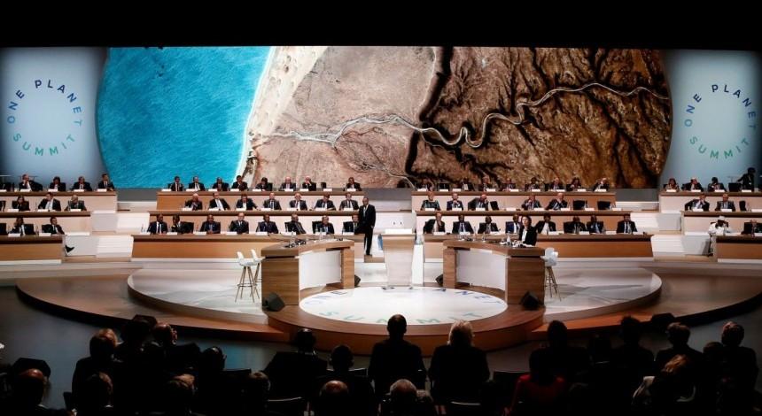"""На климатическом саммите в Париже создали коалицию """"углеродного нейтралитета"""""""