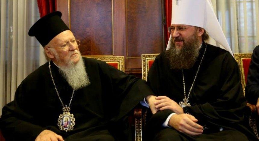 Вселенский патриарх Варфоломей призвал украинскую власть не вмешиваться в церковные вопросы