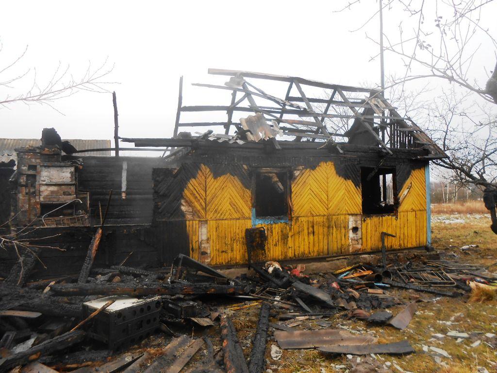 Причиной пожара стало нарушение правил пожарной безопасности при эксплуатации печного отопления / фото dsns.gov.ua