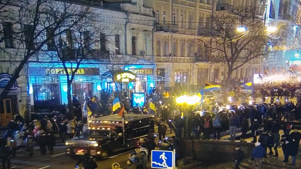 Поки що марш проходить без порушень \ Поліція Києва