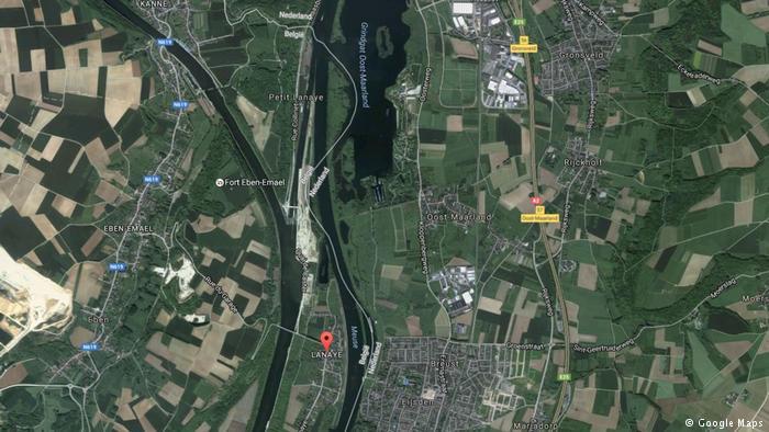 Старый граница между Бельгией и Нидерландами / фото Google Maps