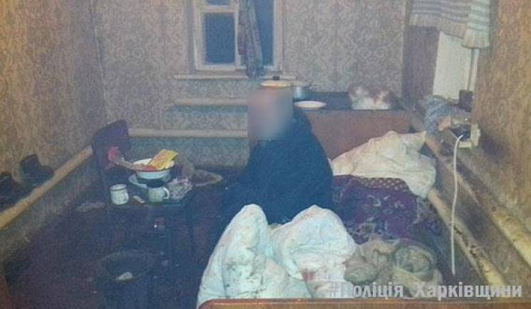 На Харківщині чоловік зухвало пограбував інваліда / фото ГУНП в Харківській області
