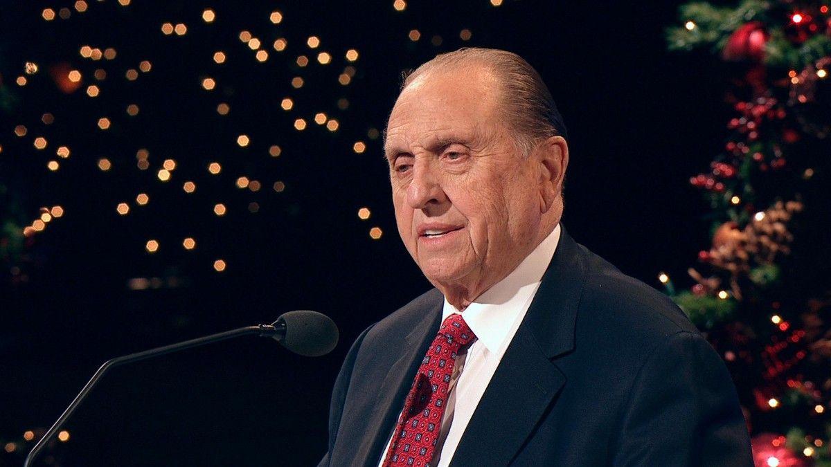 90-річний Монсон очолював церкву мормонів від2008 року / mormonnews.ru