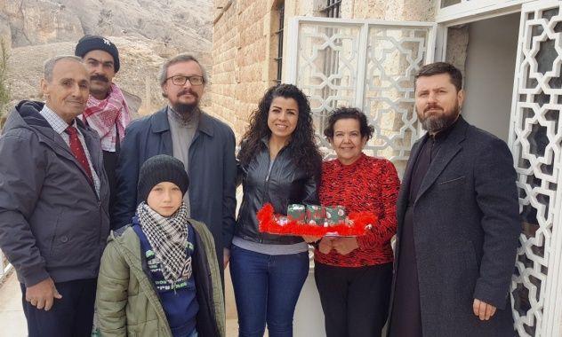 На богослужіння зібралися чада Руської Православної Церкви, які проживають в сирійській столиці / ruspodvorie.wordpress.com