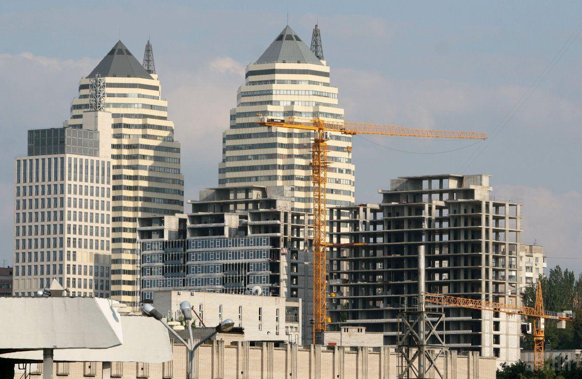 Почти 25% строительных работ в Украинеприходятся на Киев / фото УНИАН