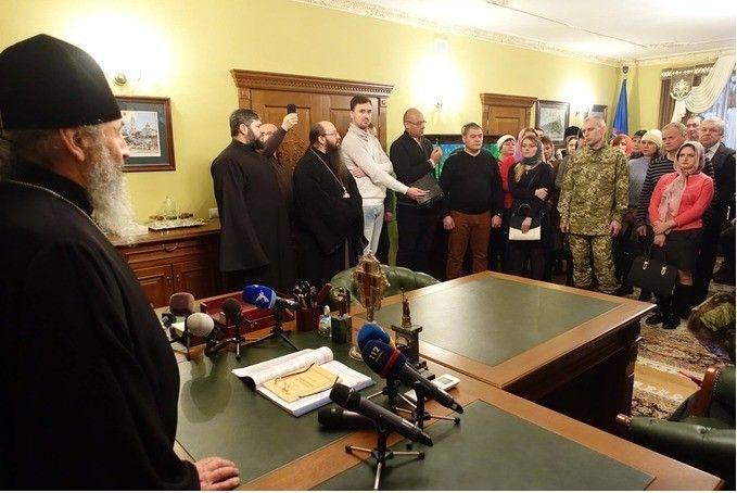УПЦ МП подала списки для нового обмена военнопленными / фото Центра информации УПЦ МП