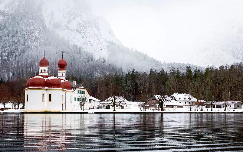 Церковь Святого Варфоломея, Бавария, Германия / telegraph.co.uk