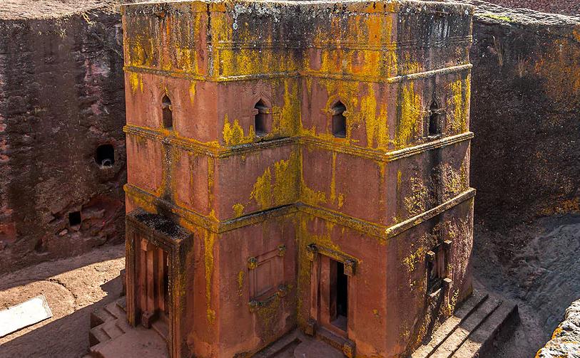 Церковь Святого Георгия, Эфиопия / telegraph.co.uk