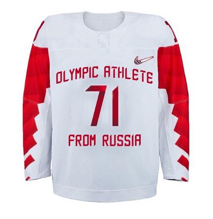 Российская хоккейная сборная выступит на Олимпиаде в форме без герба / Чемпионат
