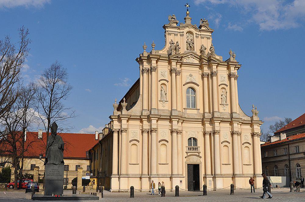 Костёл визиток, или костёл Святого Иосифа Обручника в Варшаве
