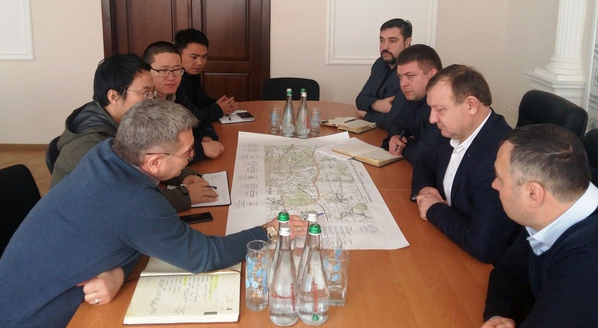 в обласній  Службі автодоріг  відбулася зустріч з китайською компанією, яка реалізовуватиме проект Північного обходу