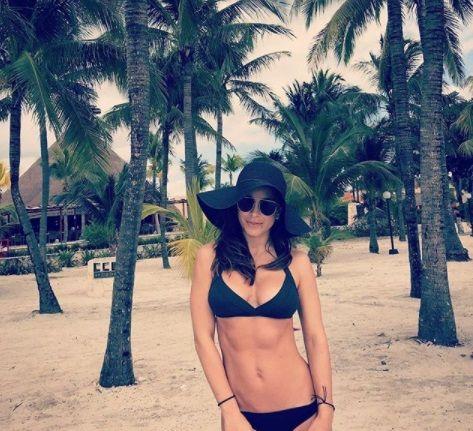 Ани Лорак отдыхает в Мексике / фото instagram.com/anilorak