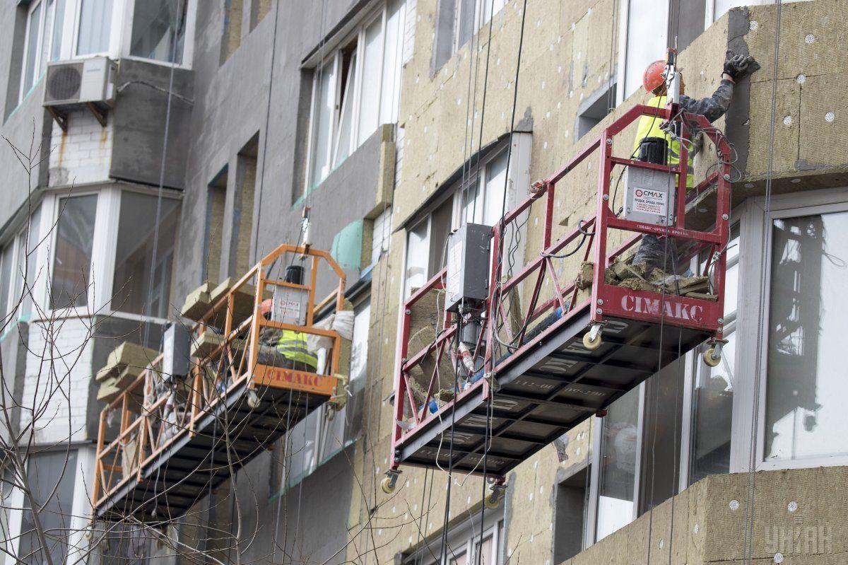 Президент ожидает термомодернизации в масштабах целых кварталов / фото УНИАН