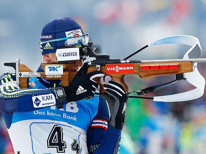 Дмитрий Пидручный попал в 6-ку лучших гонки преследования в Нове Место / REUTERS