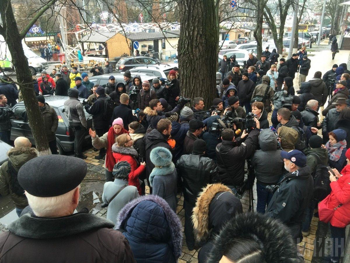 Активисты требовали найти убийц Ноздровской / фото УНИАН