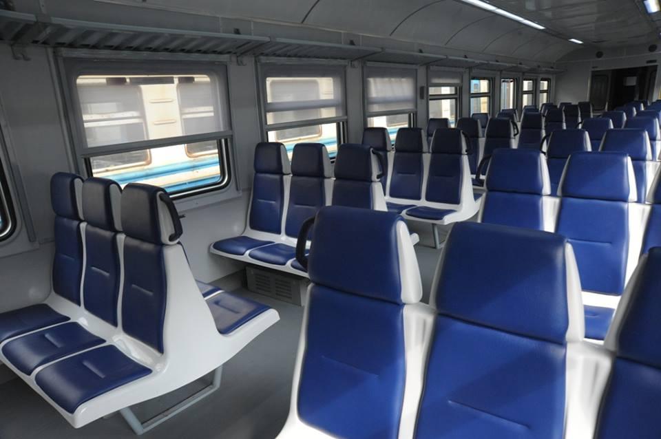 Повреждения заметили уже после первого рейса / фото Львовская железная дорога, Facebook