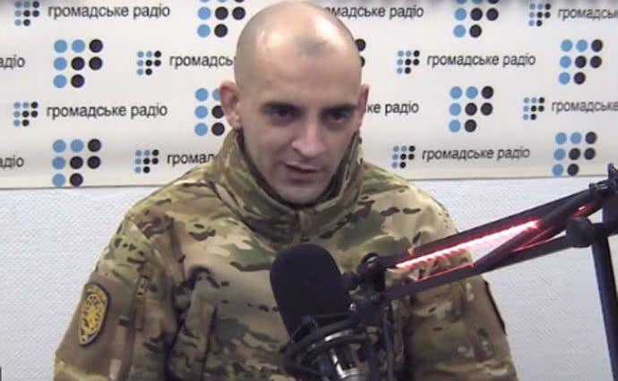 Чуднєцов також розповів, що бойовики вибили йому зуби / скріншот Громадське радіо