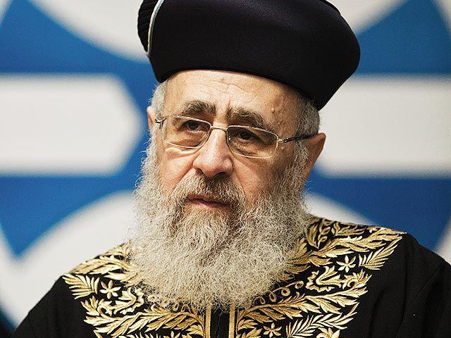 Іцхак Йосеф виступив проти запропонованого Кнесетом закону про смертну кару / vosizneias.com
