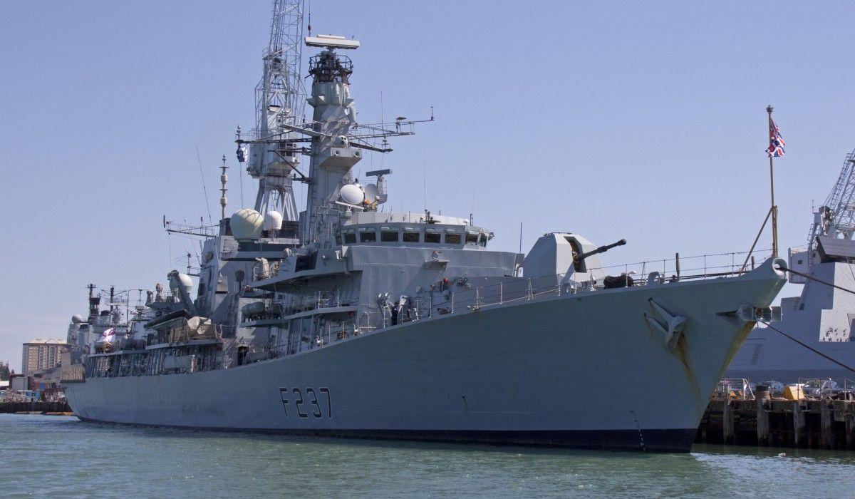 Великобритания будет сопровождать суда ВМФ РФ / фото en.wikipedia.org
