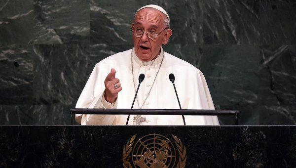 Папа упомянул о жертвах и страданиях людей в Украине / 112.ua