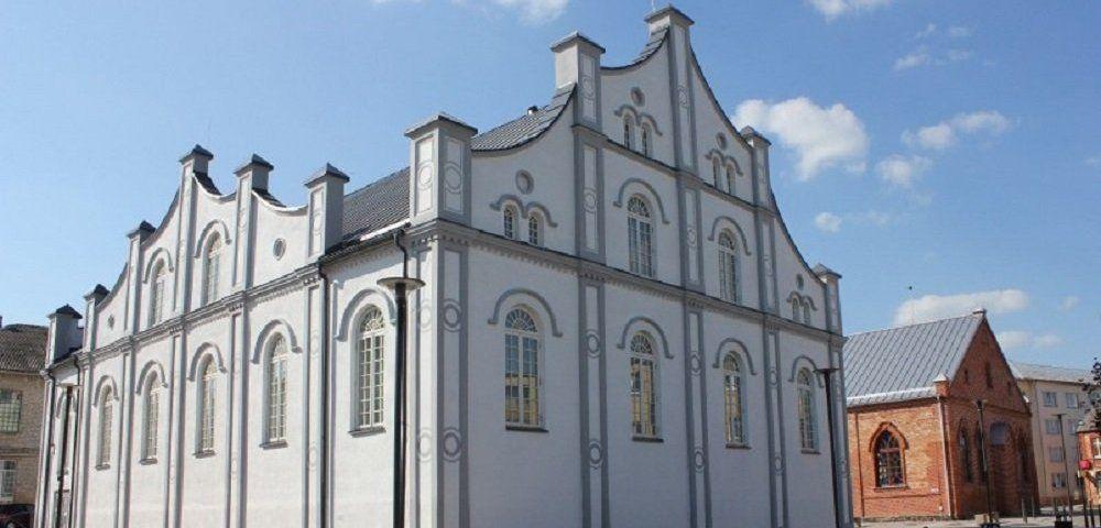Біла синагога у литовському містечку Йонішкіс / baltnews.lt