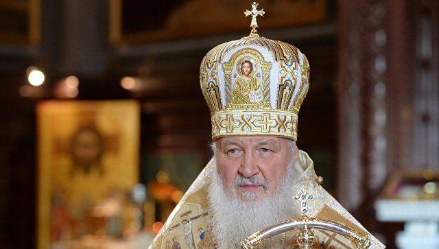 Патріарх: Церква має сьогодні бити у дзвони / ria.ru