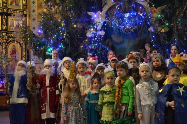 Вечера колядок и рождественские концерты для детей пройдут в епархиях УПЦ / gorlovka-eparhia.com.ua