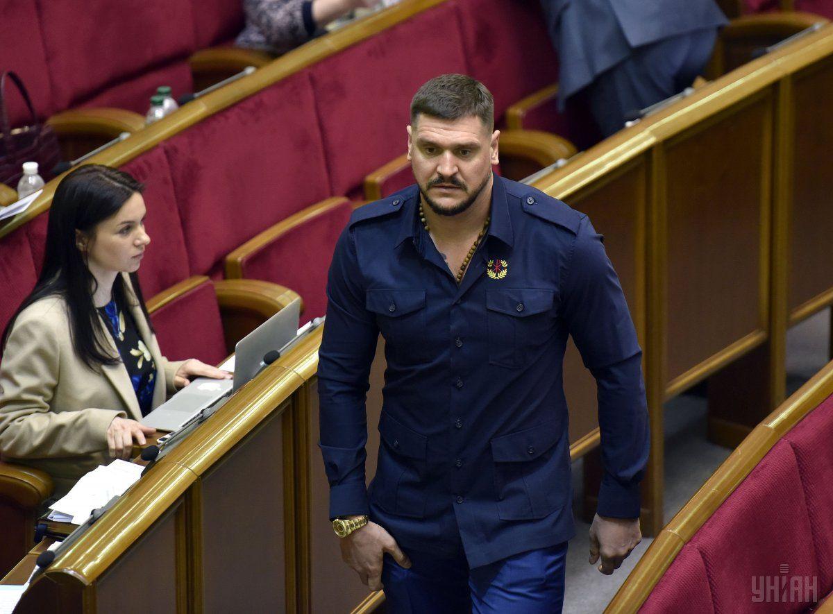 Савченко продекламировал стихотворение о ностальгии по