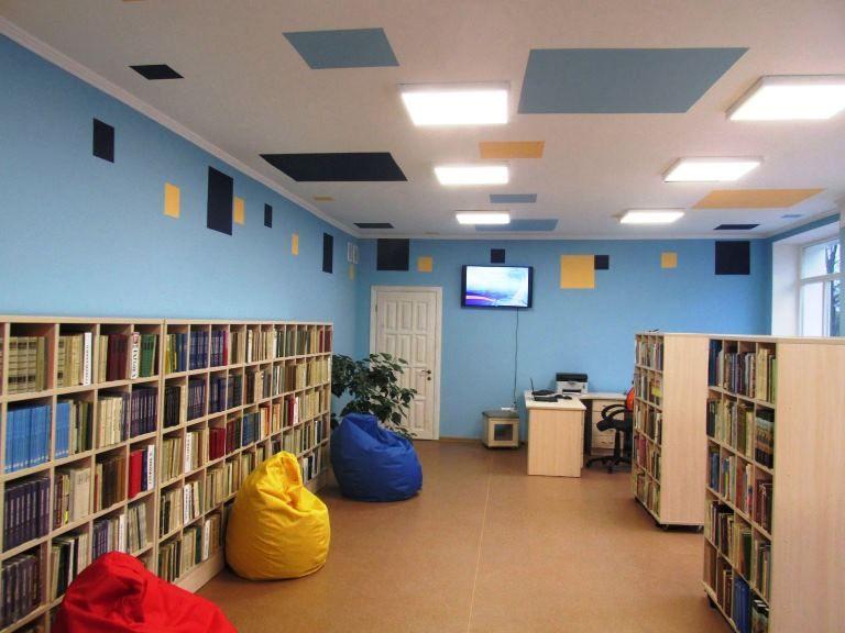 Библиотека – это пространство для обучения, работы и общения с использованием инновационных технологий / фото oda.zt.gov.ua