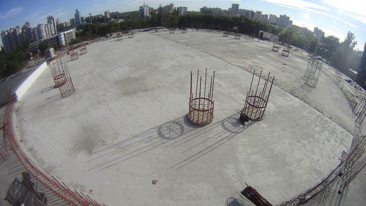 Фундамент главного собора УПЦ уже готов / sobor.in.ua