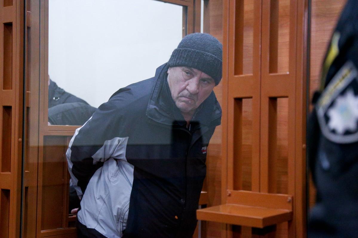 Россошанский написал записку / фото УНИАН