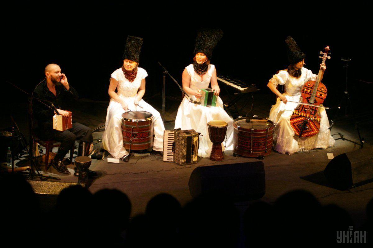 Группа «ДахаБраха» получила премию в номинации «Музыкальное искусство» / фото УНИАН