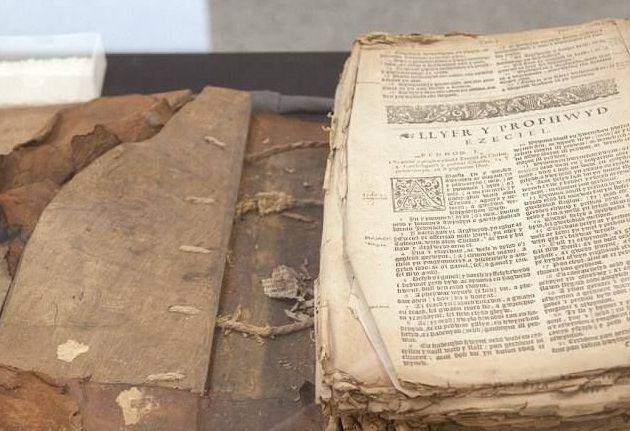Библия датирована 1620 годом / dailymail.co.uk