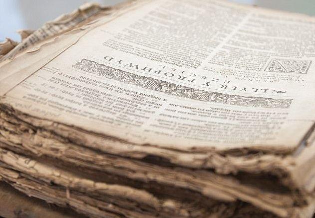 Книга будет выставлена в Национальной библиотеке Уэльса / dailymail.co.uk