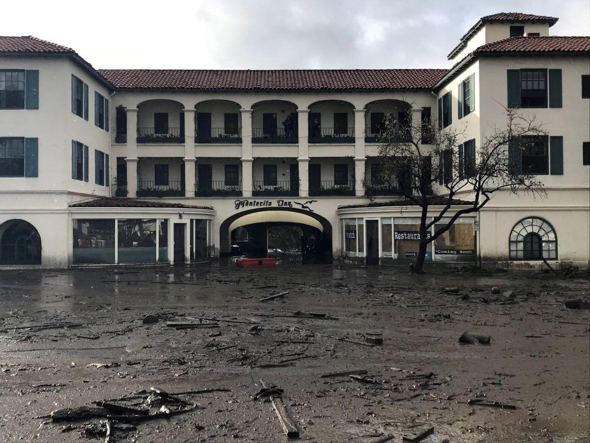 Селевий потік в Монтесіто / REUTERS