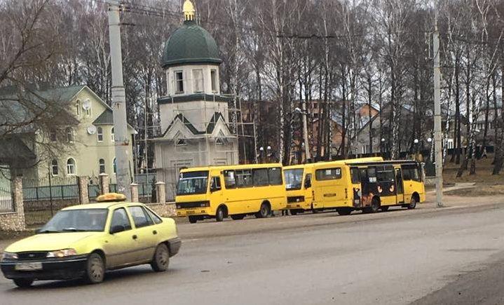 У Тернополі водії маршруток влаштували страйк 86e2749d14b73