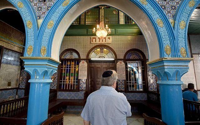 Синагога основана в VI веке до н.э / timesofisrael.com