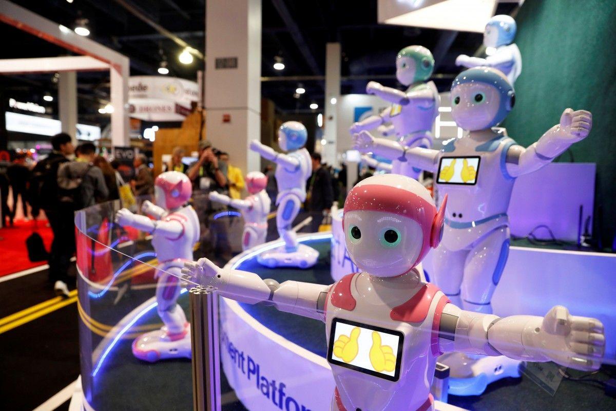 Выставка CES-2018 в Лас-Вегасе / фото REUTERS