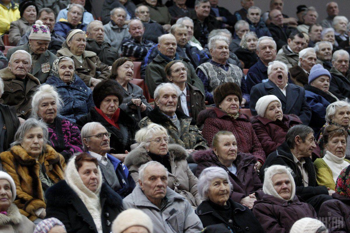 З початку року пенсії українців зросли майже на 20% / фото УНІАН